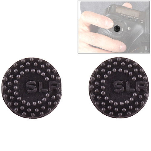 Custom SLR ProDot Shutter Button Upgrade (Black, 2-Pack)