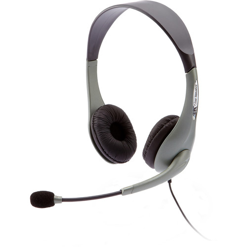 Cyber Acoustics AC-202B Analog Stereo Headset