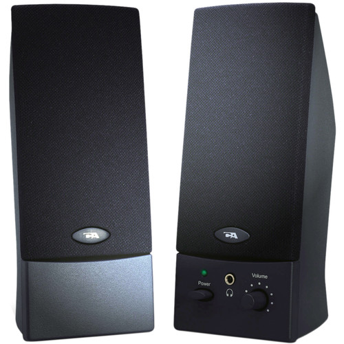 Cyber Acoustics CA-2016WB 2.0 USB-Powered Speaker System