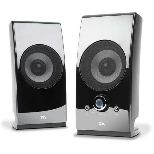 Cyber Acoustics CA-2027 2-Channel Powered Speakers