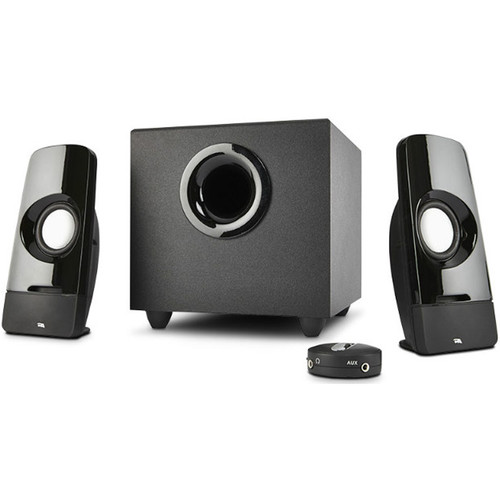 Cyber Acoustics CA-3050 Curve.Blast Speaker System with Control Pod