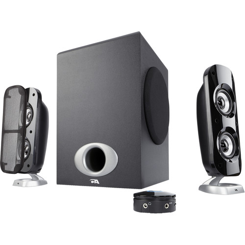 Cyber Acoustics CA-3858BT Bluetooth 2.1 Speaker System with Control Pod