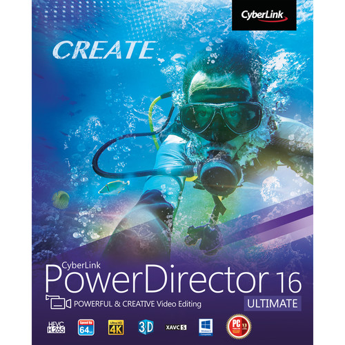CyberLink PowerDirector 16 Ultimate (Download)