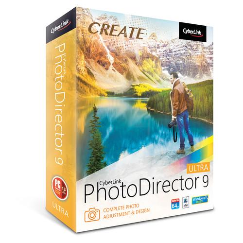 CyberLink PhotoDirector 9 Ultra (Download)