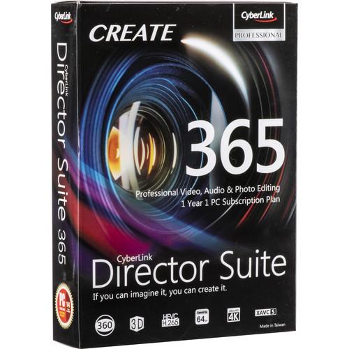 CyberLink Director Suite 365 (DVD and Download Code)