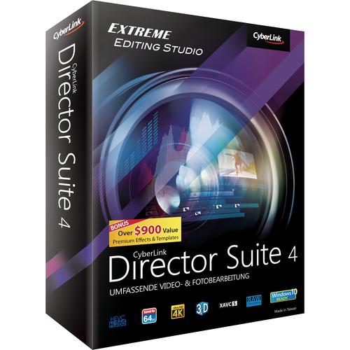 CyberLink Director Suite 4 (Windows, DVD)