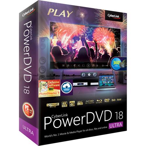 CyberLink PowerDVD 18 Ultra (Boxed)