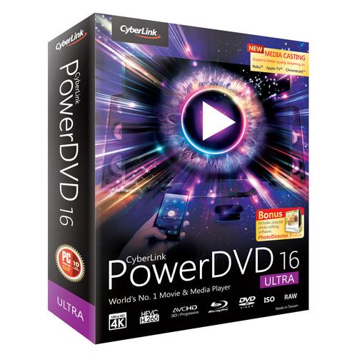 CyberLink PowerDVD 16 Ultra Edition (Download)