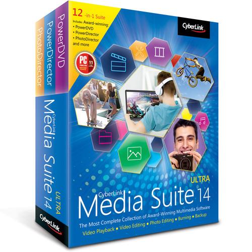 CyberLink Media Suite 14 Ultra (DVD)
