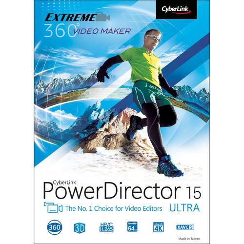 CyberLink PowerDirector 15 Ultra (Download)
