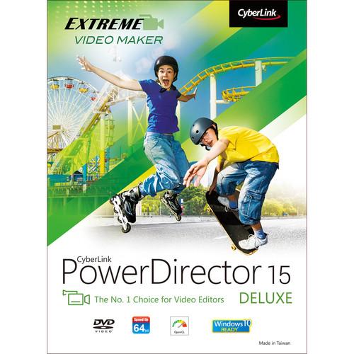 CyberLink PowerDirector 15 Deluxe (Download)