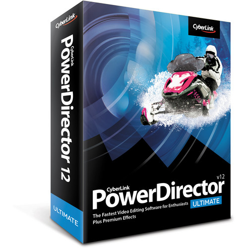 CyberLink PowerDirector 12 Ultimate (Windows)