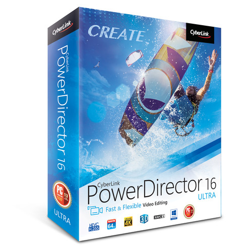 CyberLink PowerDirector 16 Ultra (DVD)