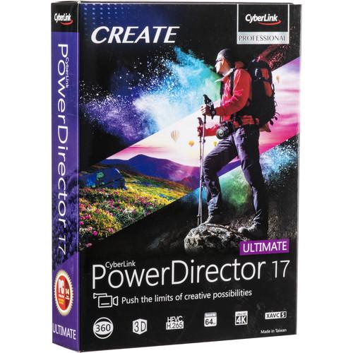CyberLink PowerDirector 17 Ultimate (DVD)