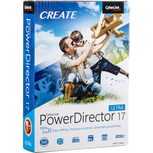 CyberLink PowerDirector 17 Ultra (DVD)