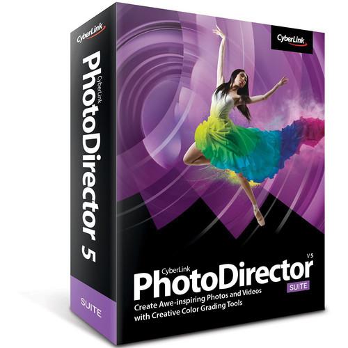 CyberLink PhotoDirector 5 Suite Software