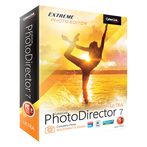 CyberLink PhotoDirector 7 Ultra for Windows (Download)