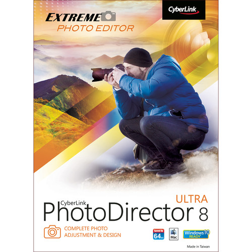 CyberLink PhotoDirector 8 Ultra for Windows (Download)