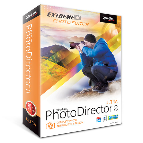 CyberLink PhotoDirector 8 Ultra (DVD)
