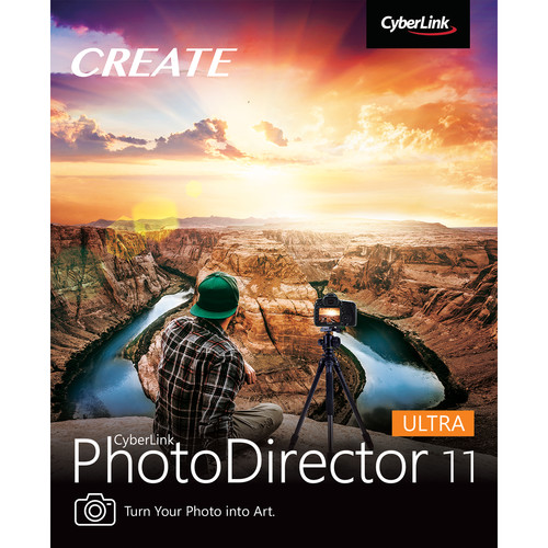 CyberLink PhotoDirector 11 Ultra (DVD and Download Code)