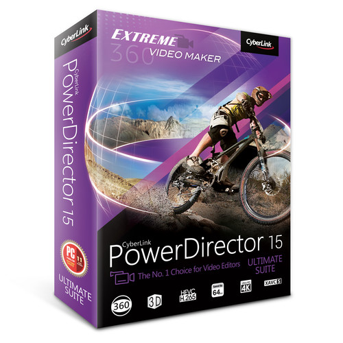 CyberLink PowerDirector 15 Ultimate Suite (DVD)