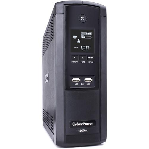 CyberPower BRG1500AVRLCD Intelligent LCD Series Uninterruptible Power Supply