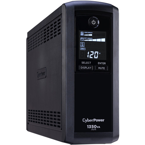 CyberPower CP1350AVRLCD Intelligent LCD UPS