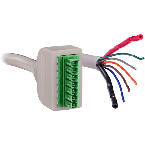 CyberPower 7-Pin Connector to 7-wire Unterminated Cable (31.5', Cool Gray)