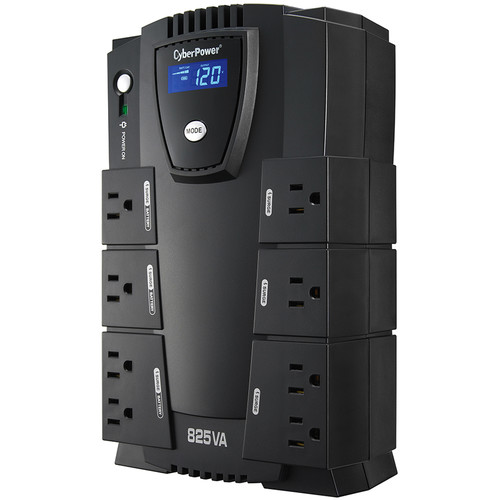 CyberPower CP825LCD Intelligent LCD UPS