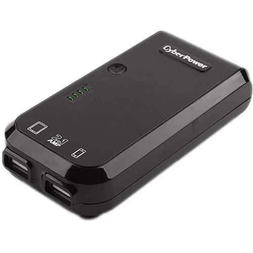CyberPower 5200 mAh External Battery Pack USB Charger