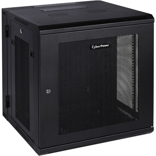 CyberPower CR12U51001 Carbon Series 12 RU Wall Mount Rack Enclosure