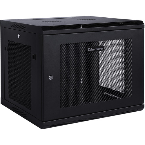 CyberPower CR9U61001 Carbon Series 9 RU Wall Mount Rack Enclosure