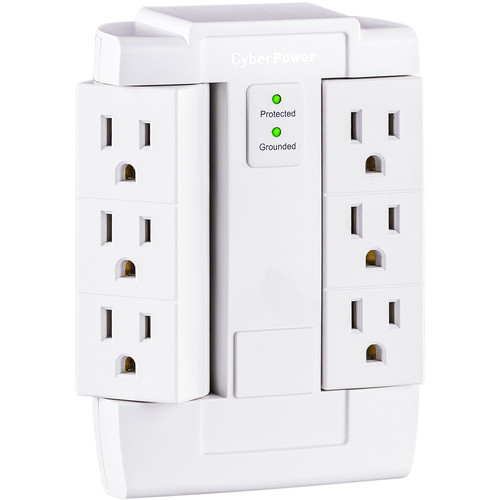CyberPower Essential Series 6-Outlet Home and Office Surge Protector