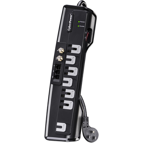 CyberPower CSHT706TC 7-Outlet Home Theater Surge Protector