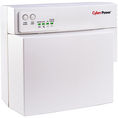 CyberPower UPS SFU CYBP27U Indoor 12V 7.2Ah 27W - 2-Prong Type A Floating, Extended Life Battery