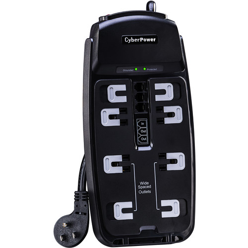 CyberPower CSP806TTAA 8-Outlet TAA Surge Protector