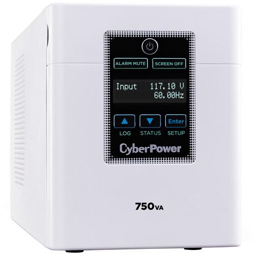 CyberPower UPS Medium Grade 750VA / 600W-20V / 6-Nema 5-15R-HG Outlets, Nema 5-15P-HG Plug, SNMP Slot