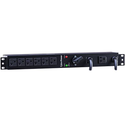 CyberPower Maintenance Bypass PDU /20 / 16A 100-120VAC / 2 NEMA L5-20P / 6 NEMA 5-20R