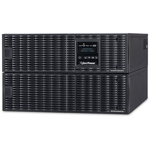 CyberPower Smart App Online Series 6 RU Sine Wave Double-Conversion UPS (6000VA / 5400W)