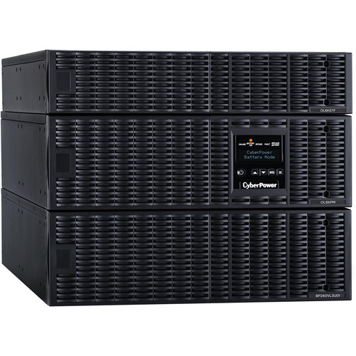 CyberPower UPS 6KVA/5.4Kw,Online Double-Conversion UPS,with StepDown Transformer,Sine Wave Output,8U Rack/Tower