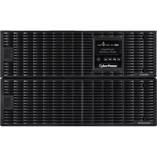 CyberPower Smart APP 6KVA/6KW/208 Online UPS(PF=1/6U)