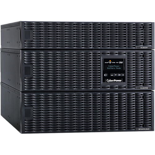 CyberPower Online Double-Conversion Uninterruptible Power Supply (UPS) 6KVA/6KW 8U Rack (Sealed Lead Acid)