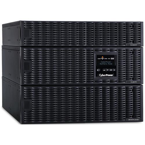 CyberPower OL8KRTF Smart App Online Series Sine Wave Double-Conversion UPS with Transformer (8000VA / 8000W)
