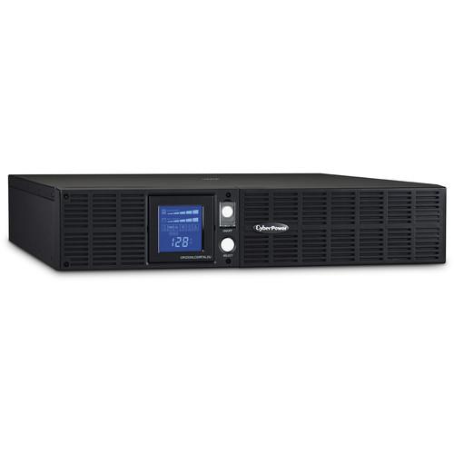 CyberPower Smart App LCD UPS Series 2U Rack/Tower Line Interactive Sine Wave UPS (2,190 VA / 1,650 W)