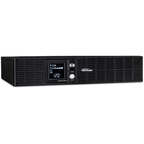 CyberPower PFC Sinewave 2000VA/1540w/8-Outlet 2-Space Rack Mount UPS