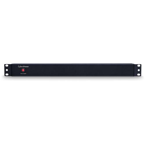 CyberPower (15)12A/100-125V/50/60Hz/PDU/Nema 5-15P Plug/8-Nema 5-15R OUTS/1U/15'Cord