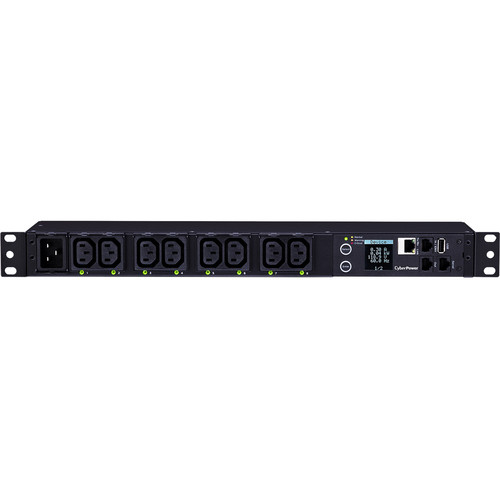 CyberPower Switched-by-Outlet Metered PDU(20)16A/200-240V/50/60Hz/8 IEC-320 C13 Outlets/1U/12' Cord