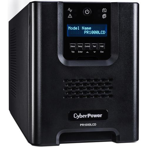 CyberPower PR1000LCD Mini-Tower Uninterruptible Power Supply