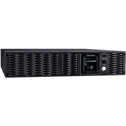 CyberPower TAA Line Interactive UPS/LCD-1000VA/900W PS/0.9 Pf/Smart App SW/2U/Tower/120/15/8-N5-15R,USB/EPO,SNM