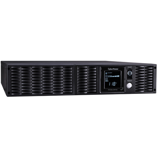 CyberPower Smart App Sinewave UPS 1500VA/1350W/8 Outlet, SNMP Networked AVR LCD Rackmount
